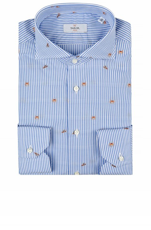 Fil Coupe Blue Shirt Mouw9.0667.030