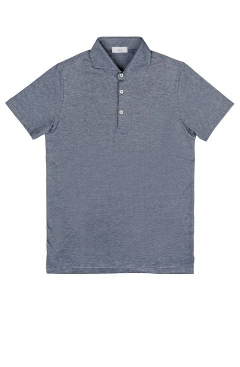 Plain Grey Polo Polo.Oxford.3