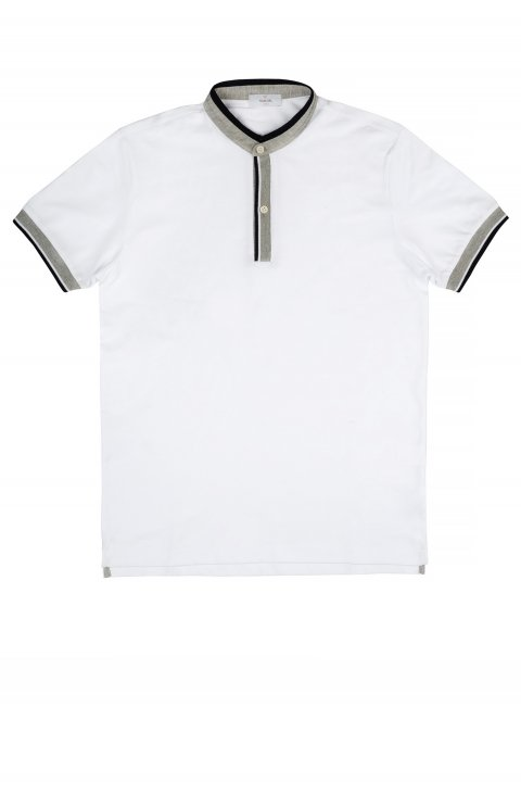 Plain White Polo Polo.Serafino.1