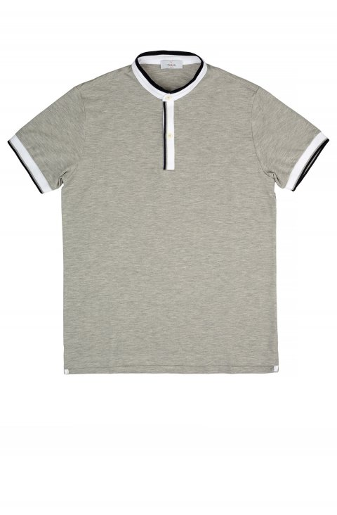 Plain Grey Polo Polo.Serafino.3