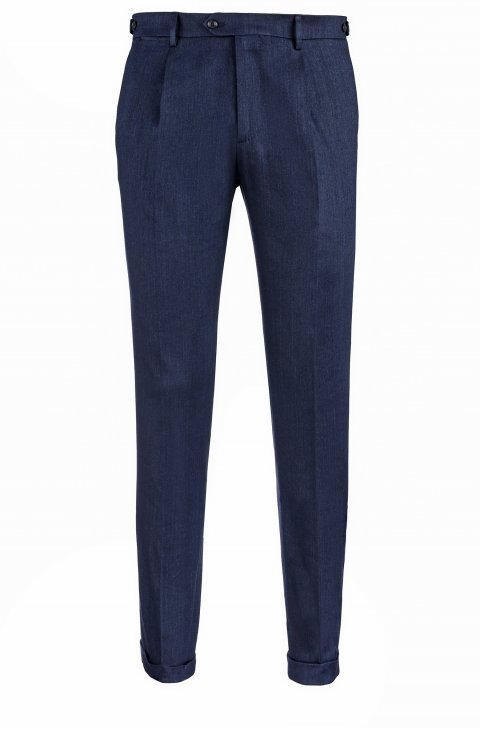 Plain Blue Trousers Lr54420.1.3904