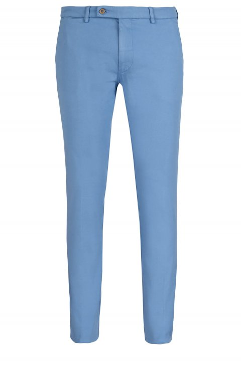 Plain Blue Trousers Ts.4887.Cie