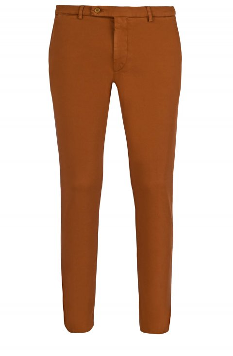 Plain Brown Trousers Ts.4887.Zuc