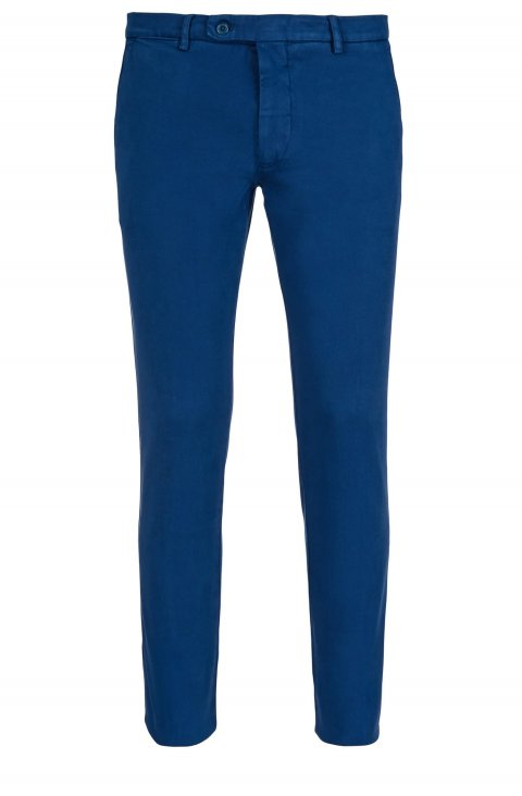 Plain Blue Trousers Ts.4887.Indi
