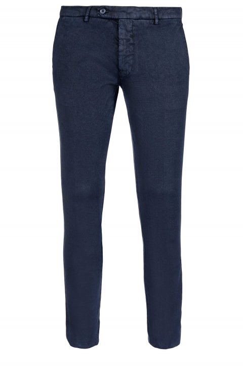 Plain Blue Trousers Ts.5656.Nav