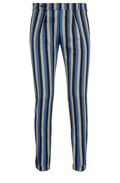 Stripe Blue Trousers Ca.33894.78