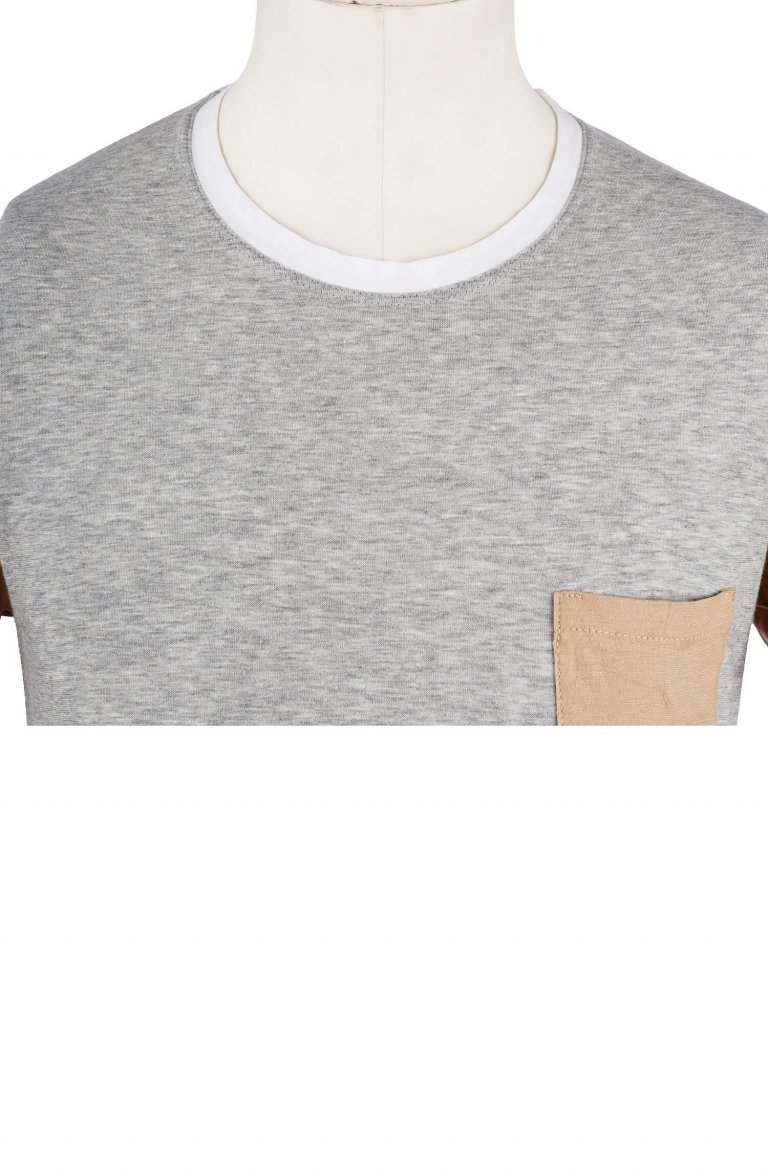 Plain Grey T-Shirt Grey 7270