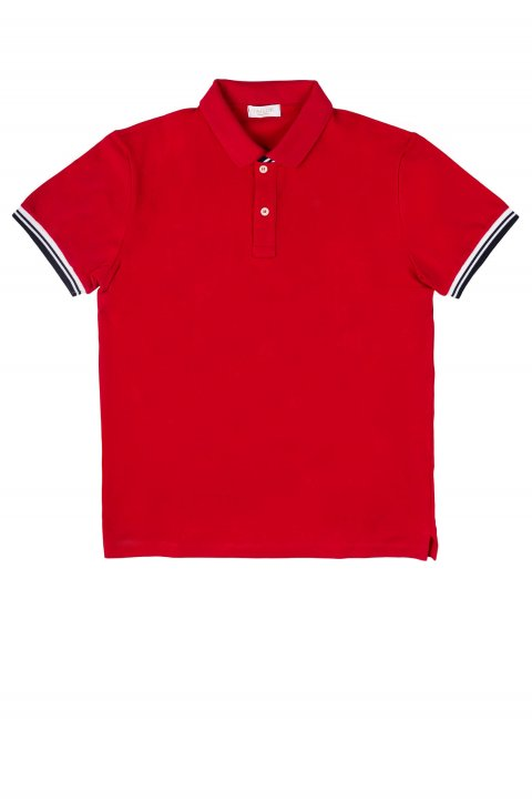 Plain Red Polo Art Fay