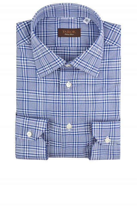 Check Blue Shirt Ab.369995.17