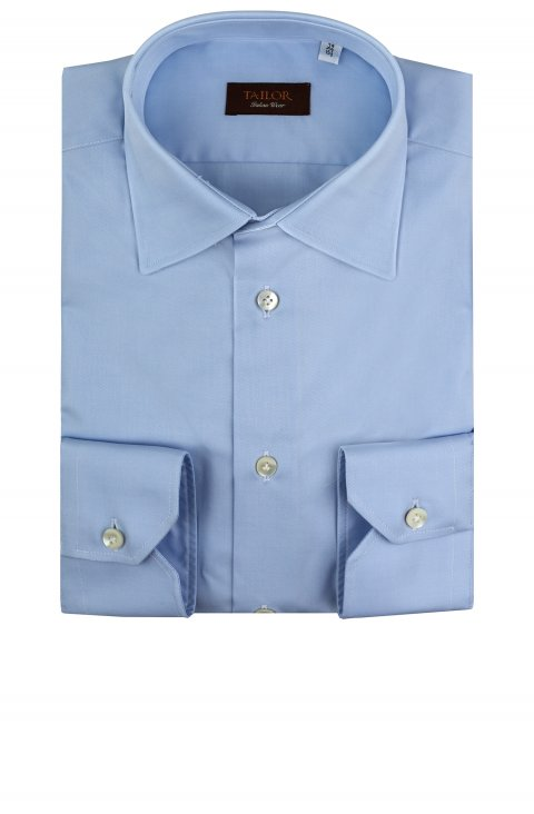 Plain Blue Shirt Ab.334543.11