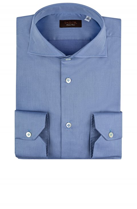 Plain Blue Shirt Cl.W886.61