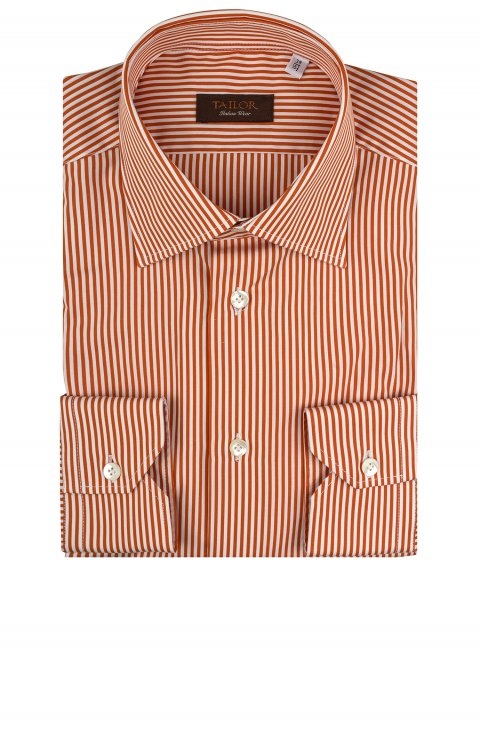 Stripe Orange Shirt Tm.9543.75