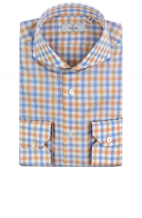 Check Blue Shirt Lt.1646122.5