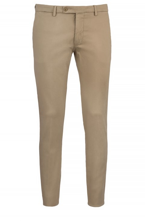 Plain Beige Trousers Ts.9025.Cam