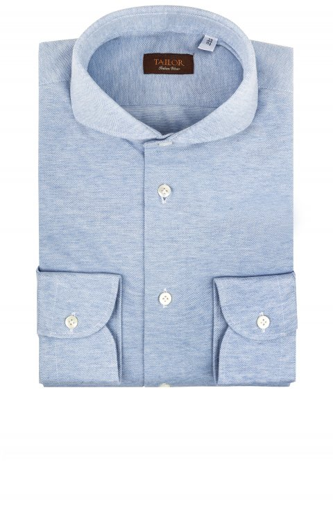 Plain Blue Shirt Mo.245.33