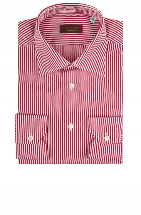 Stripe Red Shirt Tm.9543.35