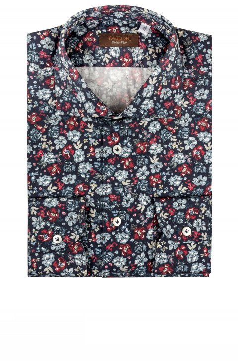Print Blue Shirt Tm.3403820.15