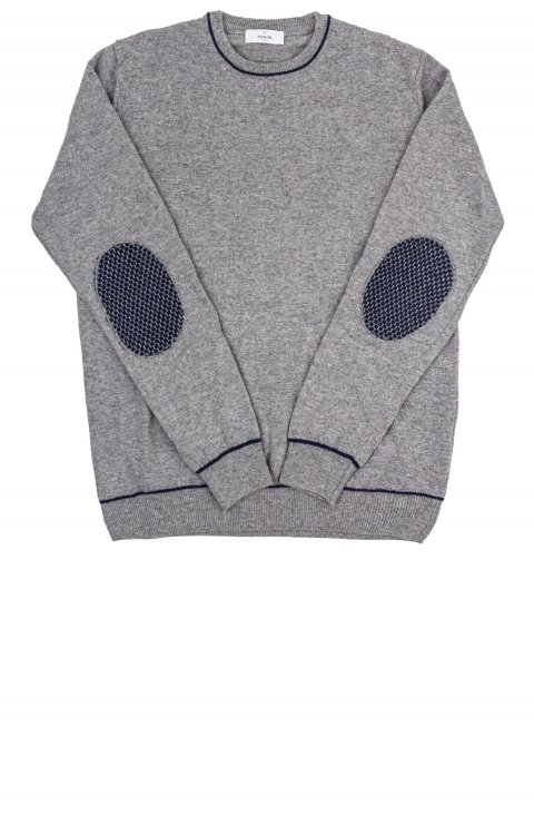Crew Neck Grey Knit Iral.G35.761