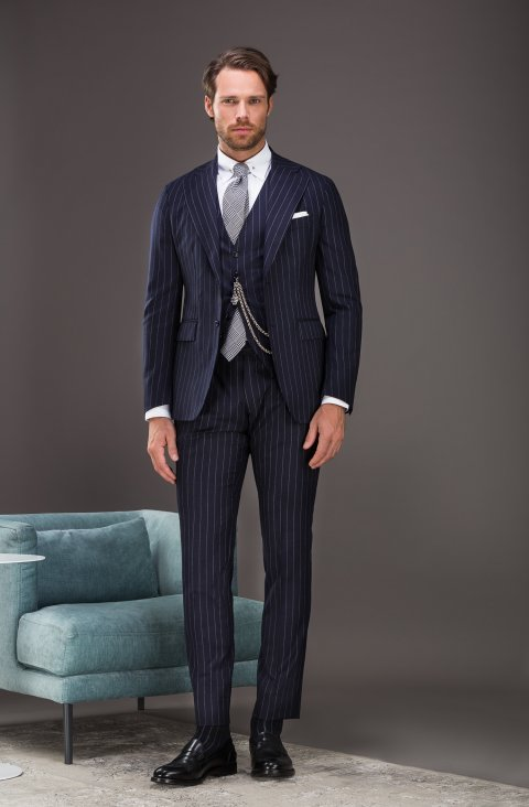 Stripe Blue Suit Vb499.893.6