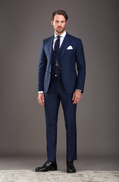 Jacquard Blue Suit Lp301610.8.5