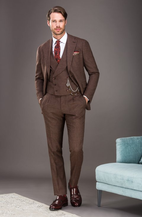 Brown Suit Mz48009.1390.40