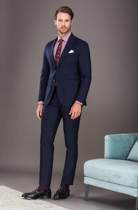 Plain Blue Suit Vb506.313.12