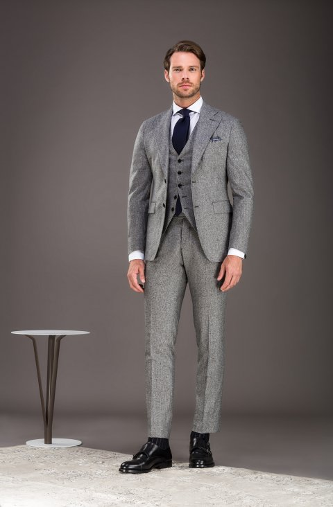 Pied Poule Grey Suit Sb00999.3.1
