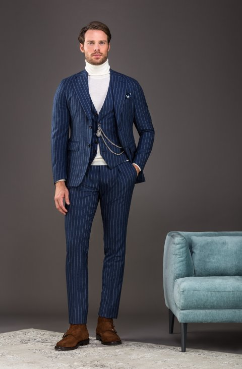 Stripe Blue Suit Vb499.893.11