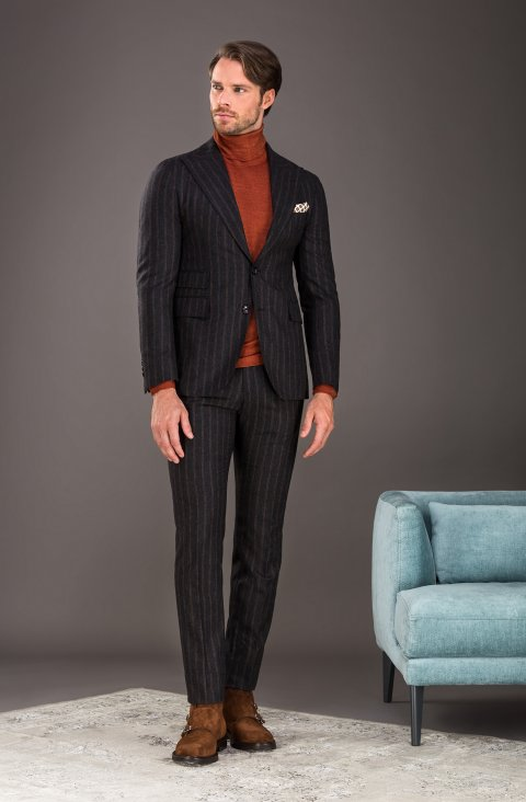 Stripe Grey Suit Lr.52230.2344