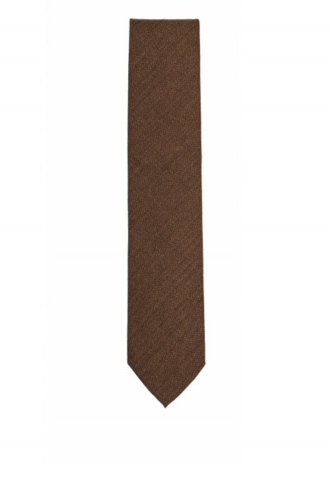 Plain Brown Tie Crv.26700.2