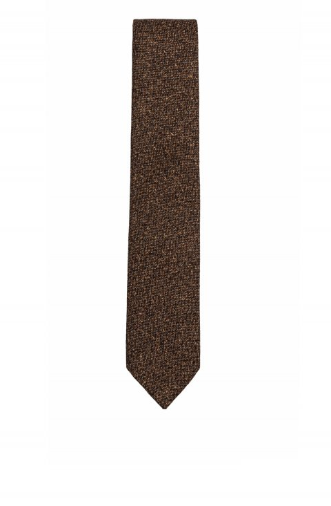 Plain Brown Tie Crnn.211.5