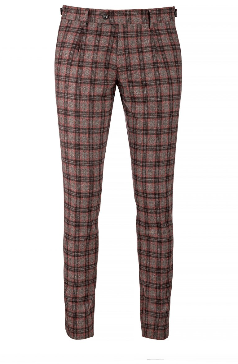 Check Grey Trousers Llr.53630.2954
