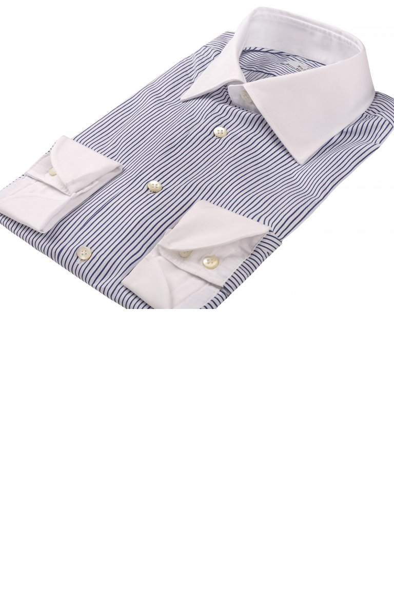 Stripe Blue Shirt Rg.205.B002
