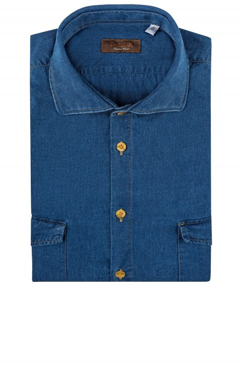 Plain Blue Shirt Cl.0145.12