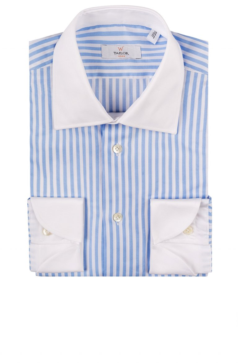 Stripe Blue Shirt Ac.110.9770