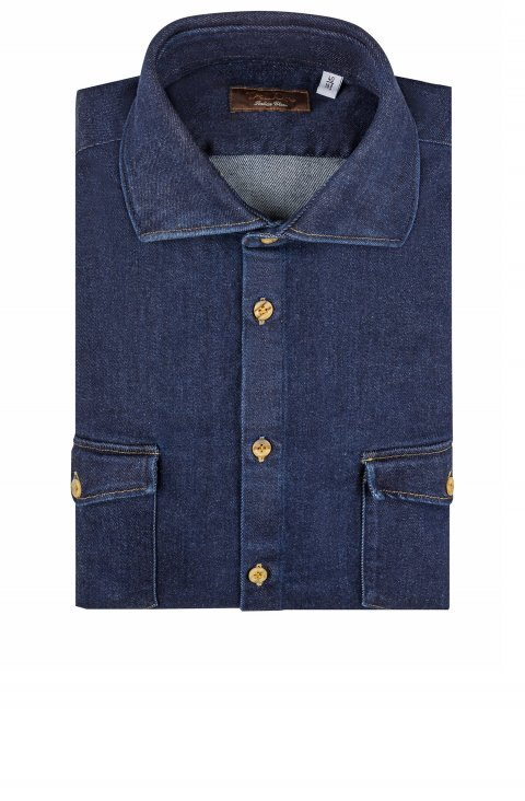 Plain Blue Shirt Cl.2500.1