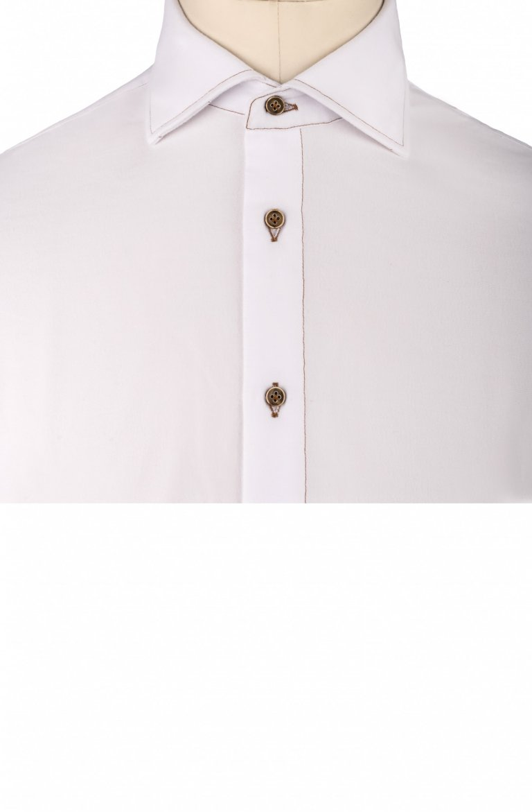 Plain White Shirt Tm.358100.1