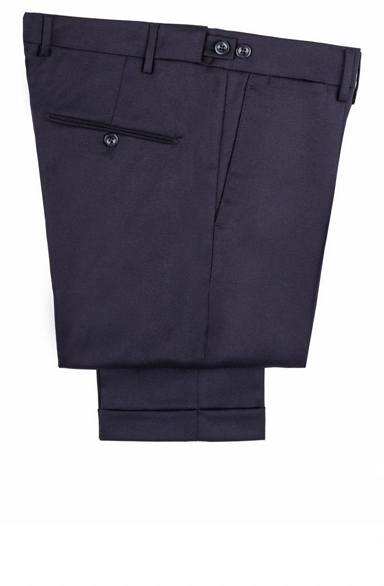 Plain Blue Trousers Vb533.101.334