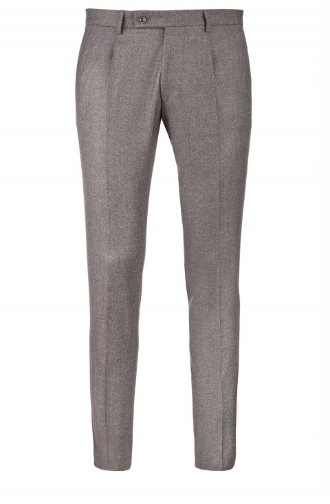 Plain Grey Trousers Mz85702.10.35