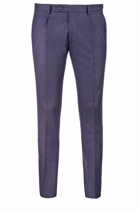 Plain Blue Trousers Mz85702.10.272
