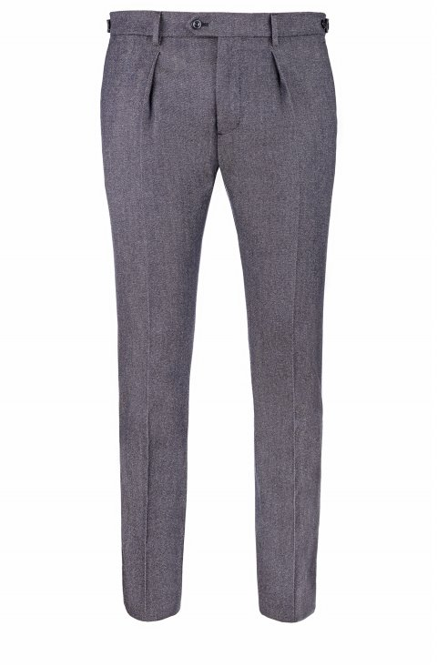 Plain Blue Trousers Mz21002.10.10