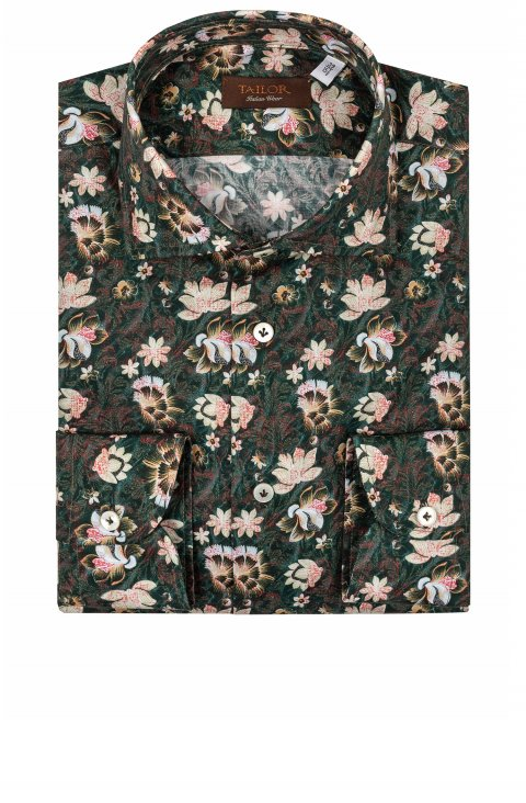 Print Green Shirt Cl.24657.4