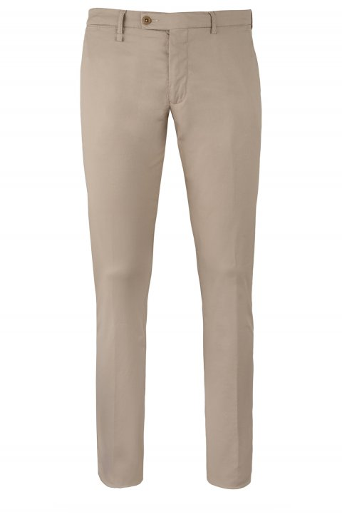 Plain Beige Trousers Ts5027.1.Fan