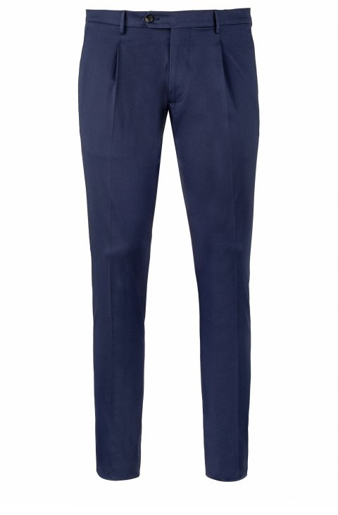 Plain Blue Trousers Dv.Har.5950