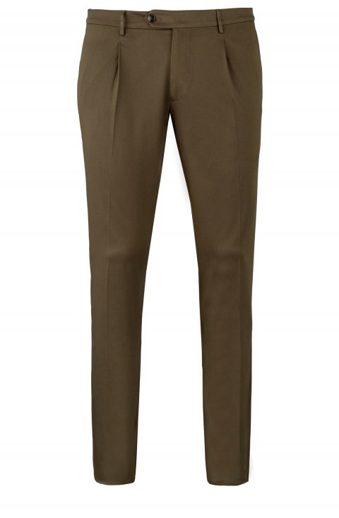 Plain Green Trousers Dv.Har.6280