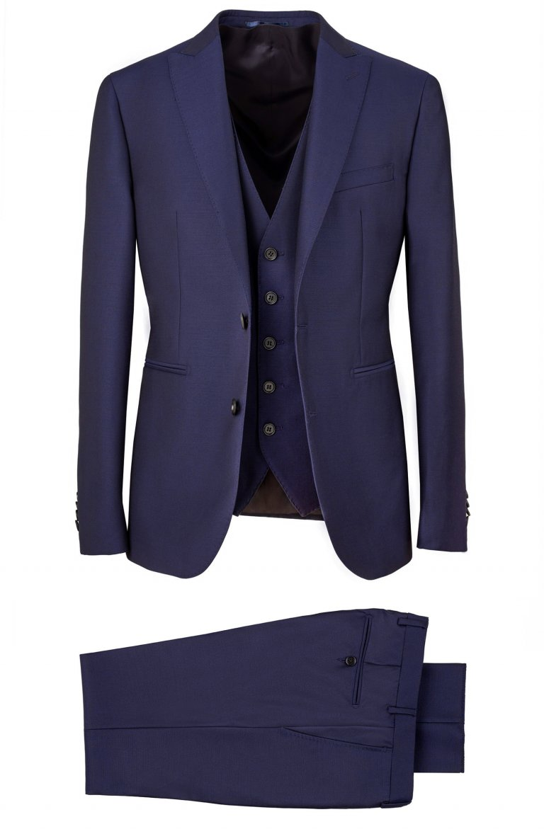 Plain Blue Suit Gb3622.100.6