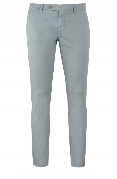 Plain Grey Trousers Ts5027.1.Gri