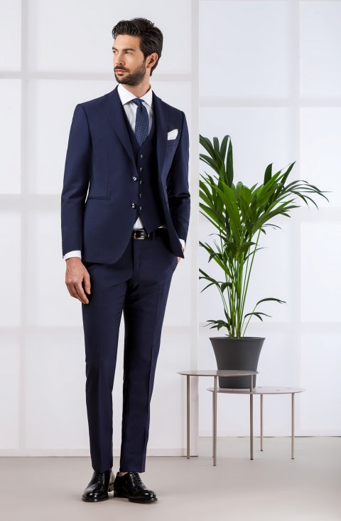 Plain Blue Suit Vb.824.8909