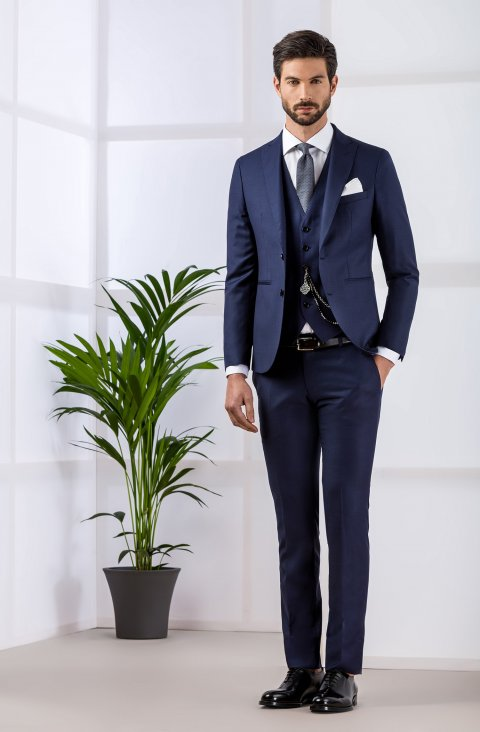 Plain Blue Suit Gb3622.103.9