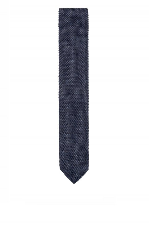Knitted Blue Tie Mcp.3493.043